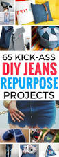 65 mind blowing repurposing projects for diy jeans repurpose