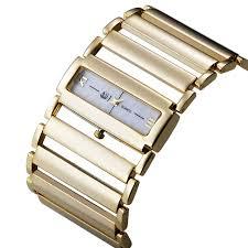silver bracelet watches images 2016 women luxury stainless steel watch ladies wide steel band jpg