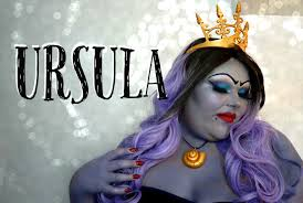 Awesome Makeup For Halloween Ursula Makeup Halloween Tutorial Youtube