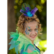 girls costumes peacock peacock face painting costume