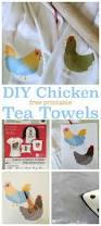 iron on chicken tea towels today u0027s creative life