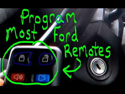 how to program ford mustang key how to program most ford keyless entry remotes