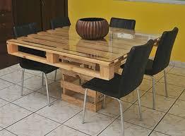 table de cuisine en palette bemerkenswert table en palette de bois haus design