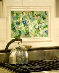 kitchen mural backsplash framed kitchen mural tiles backsplash with stainless steel kettle