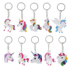 metal unicorn ring holder images Metal key ring cute silicone cartoon unicorn keychain women girls jpg