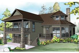 front sloping lot house plans sloped lot houselans with garage sloping basement brisbane canada