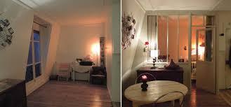 separation chambre salon charmant idée séparation chambre salon avec raamanager chambres en