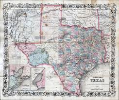 State Map Of Texas by Large Detailed Old Administrative Map Of Texas State U2013 1870