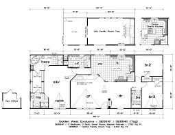 Golden West Homes Floor Plans by Golden Exclusive 664f 3 Bed 3 Bath 1 782 Sqft Affordable Home