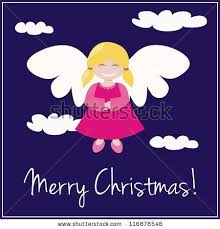 vector card merry wishes sweet stock vector 116878546