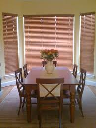 Window Treatments For Bay Windows In Dining Rooms Decorating Exciting Bay Window Curtain Rod With Decorative Cushions