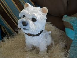 finished my westie today this has been cast in concrete and