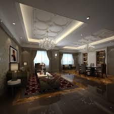 Living Room Dining Room Combination Fancy Living Room Combined With Dining Room 3d Model Max