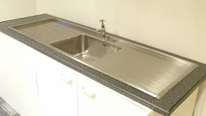 Kitchen Sink Tops by Double Drainer Sink Befon For