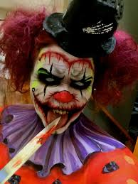 Evil Clown Halloween Costume 25 Evil Clown Makeup Ideas Halloween Clown