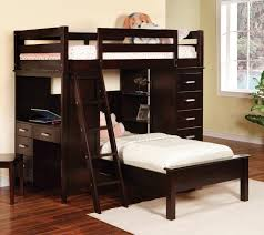 Kids Bunk Bed Desk Kids Loft Bunk Beds With Stairs And Desk Home Stair Design Idea