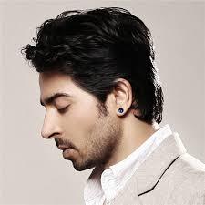 man ear rings images Boniskiss men earrings stainless steel black blue barbell type jpg