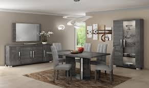 Grey Dining Room by Sarah Grey Dining Table