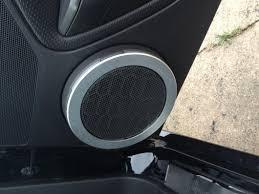 modern billet mustang satin speaker trim rings 41108 05 09 all