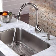 kitchen stainless steel kitchen sink combination kraususa within