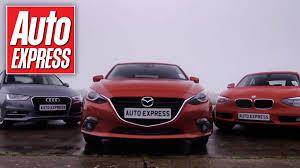 cars like bmw 1 series mazda 3 vs audi a3 bmw 1 series test