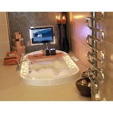 tv in a mirror bathroom tv behind mirror bathroom home decoration ideas