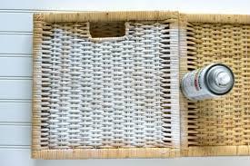 ikea baskets ikea storage basket geometric makeover a charming project