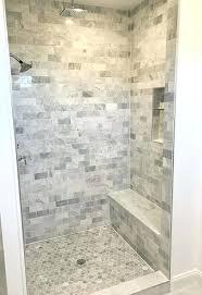Bathroom Remodel Tile Shower Shower Bench Ideas Jamiltmcginnis Co