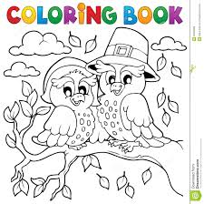 coloring book thanksgiving image 5 stock vector image 33966689