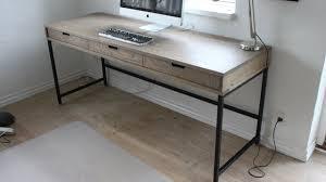 Modern Oak Desk A Modern Oak Desk