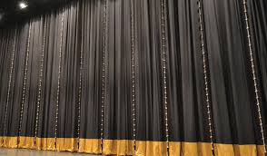 Theater Drop Curtain Curtain Finishes