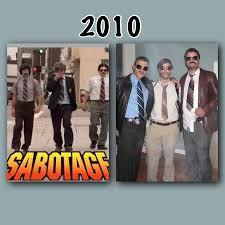 group trio costume idea beastie boys sabotage halloween