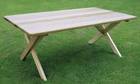 Outdoor Table Legs A New Spin On Outdoor Furniture Care2 Healthy Living