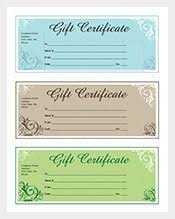 free business gift certificate template asptur com