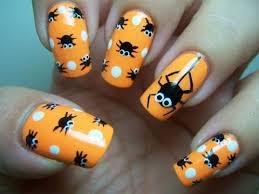 imagenes de uñas decoradas de jalowin halloween 2015 uñas decoradas con diseños fáciles de hacer youtube