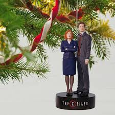 the x files scully and mulder musical ornament keepsake