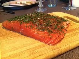 saumon cuisine fut saumon gravlax sauce norvégienne la cuisine de micheline
