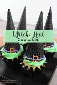 witch hat cupcakes balancing motherhood