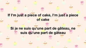 cake melanie martinez lyrics english français youtube