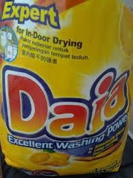 Sabun Daia tips sabun basuh terbaik my and