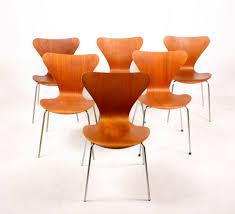 fritz hansen dining table danish series 7 teak dining chairs by arne jacobsen for fritz hansen