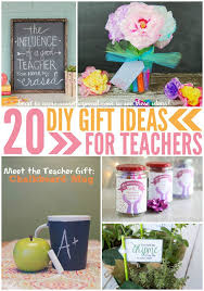 20 diy gifts ideas for teachers this worthey