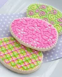 Cute and Easy Decorated Easter Egg Cookies