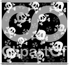 halloween skull with candle background clipart black and white skull and crossbone background royalty
