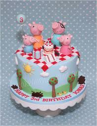 George Pig Cake Decorations Peppy Pig Cake By Little Cherry Cake Company Peppa Pig Party