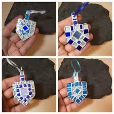hanukkah decorations happy hanukkah gift dreidel ornament