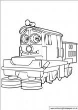 free chuggington colouring pages cbeebies colour sheets