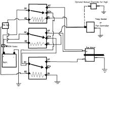 taurus 2 speed fan control wiring diagram