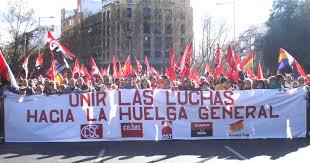 Huelga Flag Las Marchas De La Dignidad Deciden Convocar El 22 De Octubre De
