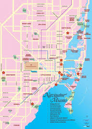 Travel Map Of Usa by Miami Tourist Map Tourist Map Of Miami Florida Usa